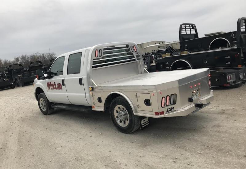 "2020 CM Truck Beds Aluminum SK 8'6"" x 84/56/38 - Pre 2017 Ford Superduty Single Rear Wheel Long Bed"