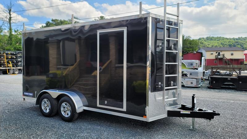 2021 Sure-Trac 7 x 16 Enclosed Cargo Trailer 10k Contractor Pac