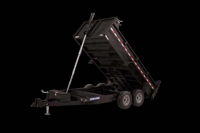 2021 Sure-Trac 82 x 14 - 14k Telescopic Dump Trailer