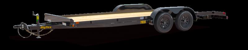 """2020 Big Tex Trailers 70CH-18 83"""" x 18' Flat Deck No Dove"""