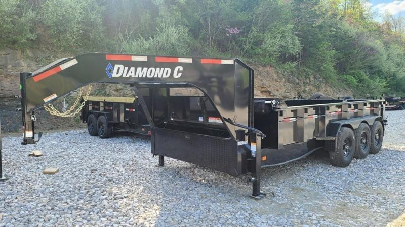 2021 Diamond C Trailers LPT 307 Tri Axle 24K Dump Trailer