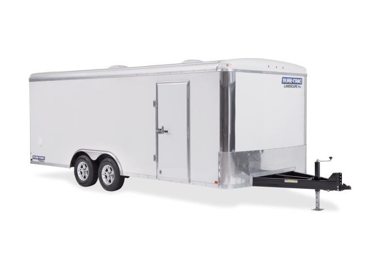 "2020 Sure-Trac 102""x20 Landscape Pro Round Top (STRLP10220TA) Enclosed Cargo Trailer"