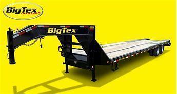 Big Tex 22GN 102 X 20 + 5' 23.9K Gooseneck Deckover