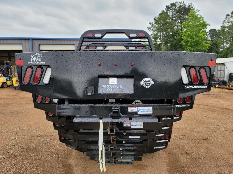 """2021 Dakota 8'6"""" x 97"""" DB Model Flat Truck Bed"""