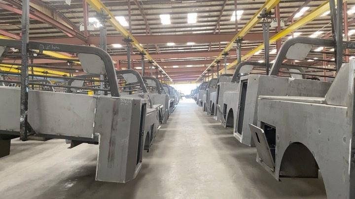 """2019 Norstar 8'6"""" x 97"""" SF Model Truck Bed"""
