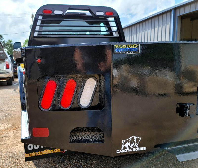 "2021 Dakota 9'4"" x 94"" DS Skirted Model Truck Bed w/Trough"