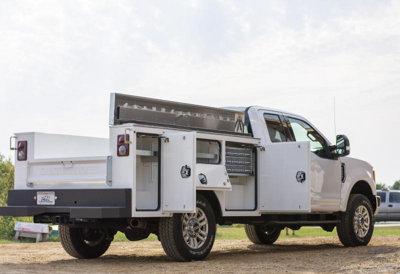 """2021 Dakota 98"""" GEN II Model Service Body"""