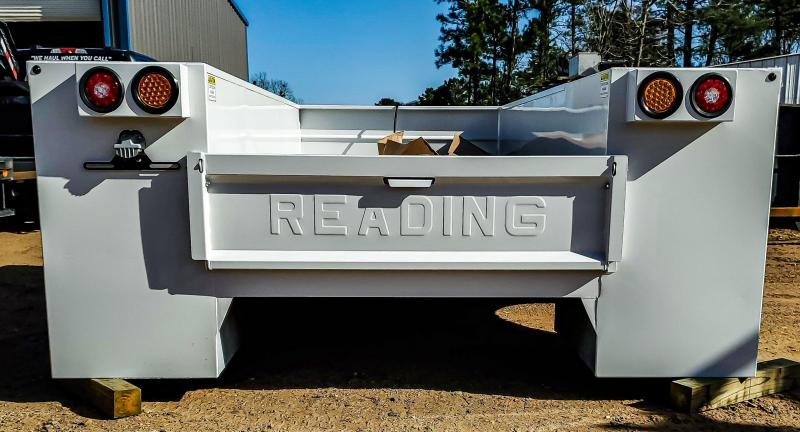 2021 Reading MM120 Crane Body Truck Bed