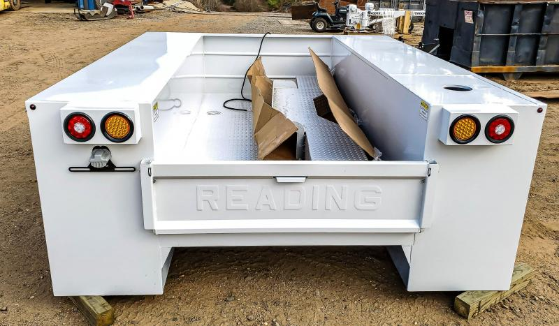 2021 Reading MM120 Crane Body Truck Bed
