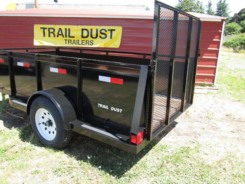Trail Dust Steel Side Utility Trailer