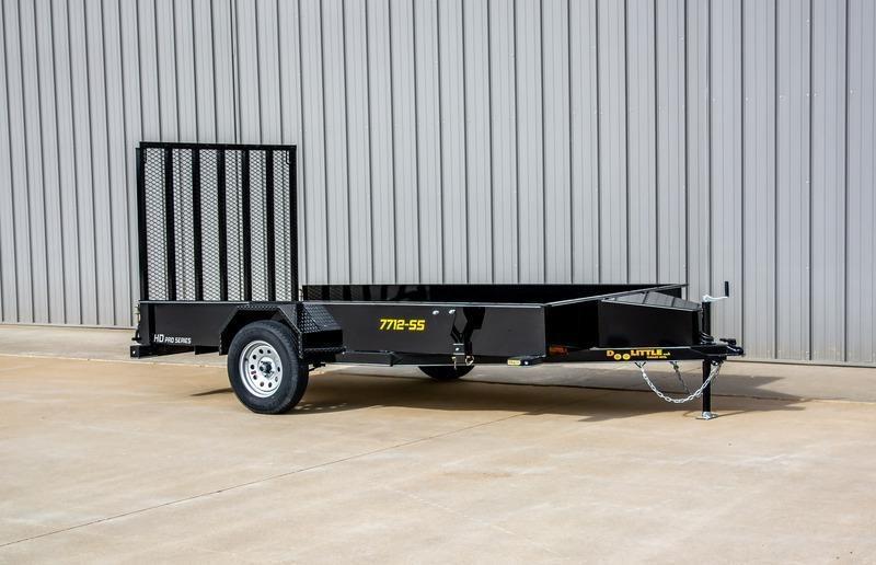2021 Doolittle Trailer Mfg 77X12 SS Series Utility Trailer