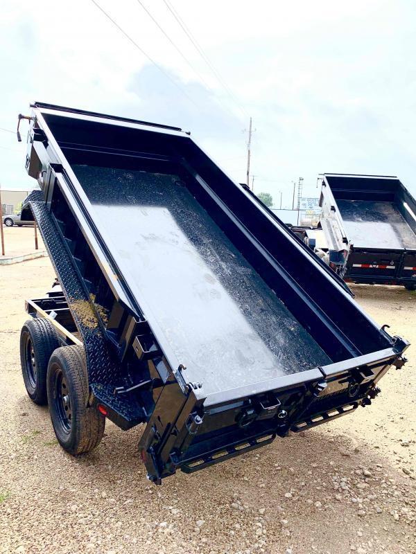 2022 Iron Bull 83x14 2-7000 axles Dump Trailer