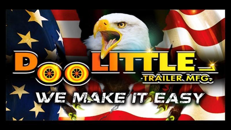 2021 Doolittle Trailer Mfg GT822214K Equipment Trailer