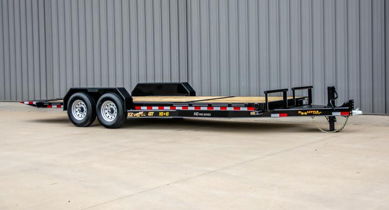 2021 Doolittle Trailer Mfg GT822214K Equipment Trailer