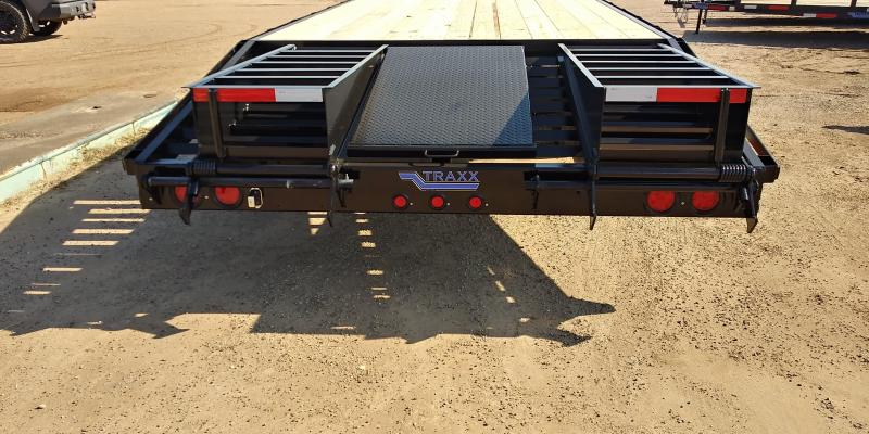 2021 Traxx 32GN2CP Flatbed Trailer