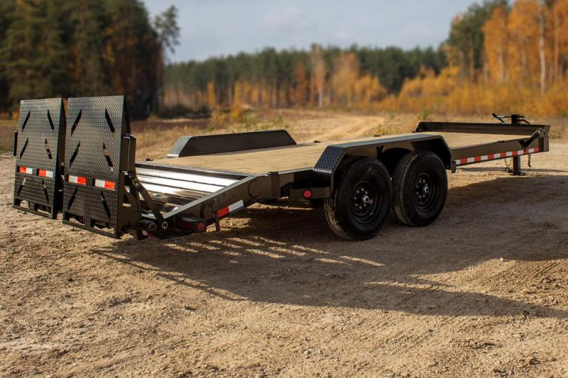 2021 Iron Bull 83X20 BUMPER PULL Equipment Trailer