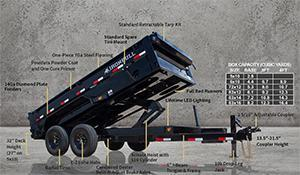 2021 Iron Bull DT14 Dump Trailer