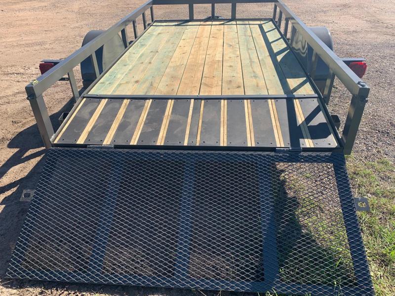 Traxx Trailers 77x12 Bumper Pull Utility Trailer Utility Trailer