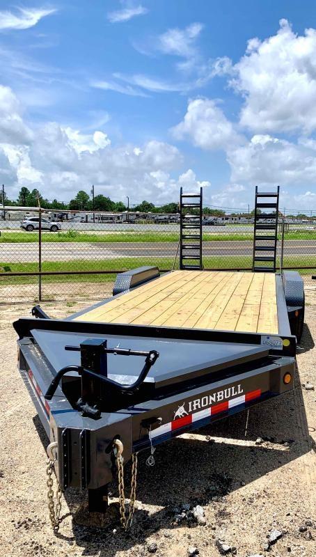2022 Iron Bull 83X20 2-7K AXLES Bumper Pull Equipment Trailer