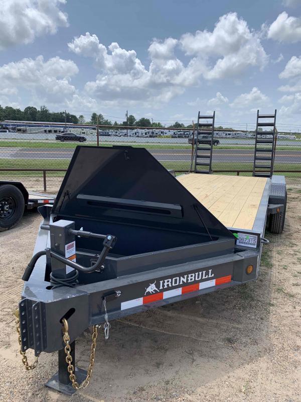 2022 Iron Bull 83x20 Pumper Pull 2-7k Equipment Trailer