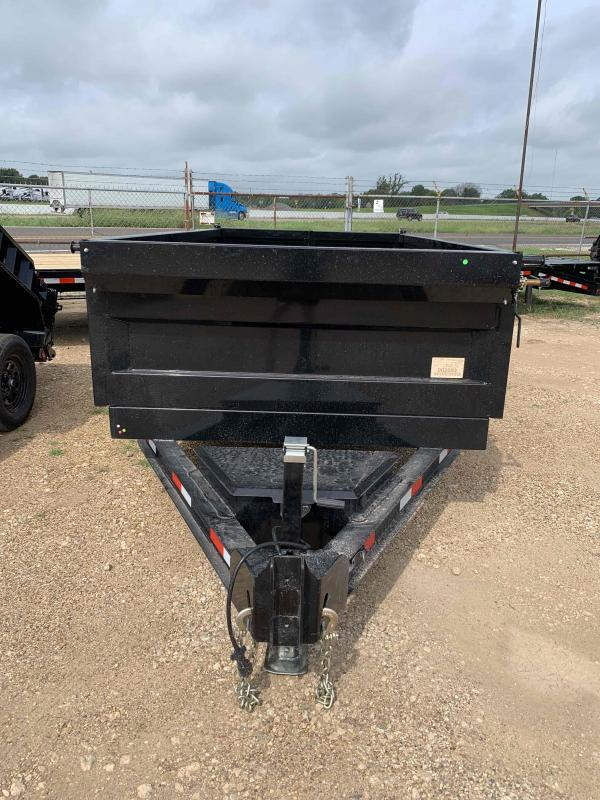 2022 Iron Bull 72x12 2-5200 axles Scissor lift Bumper Pull Dump Trailer