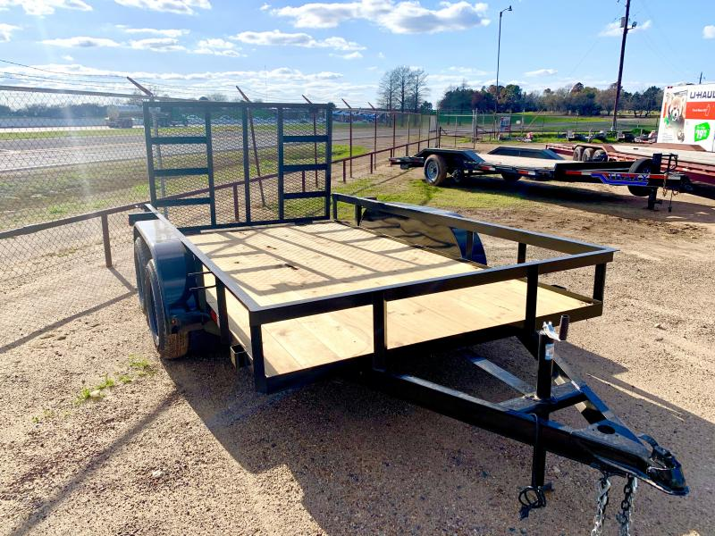 2021 Other 77X12 Tandem with Gate Utility Trailer