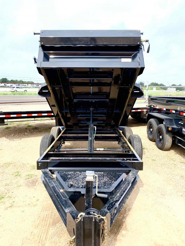 2022 Iron Bull 60X10 Bumper Pull 2-3500 Axles Dump Trailer