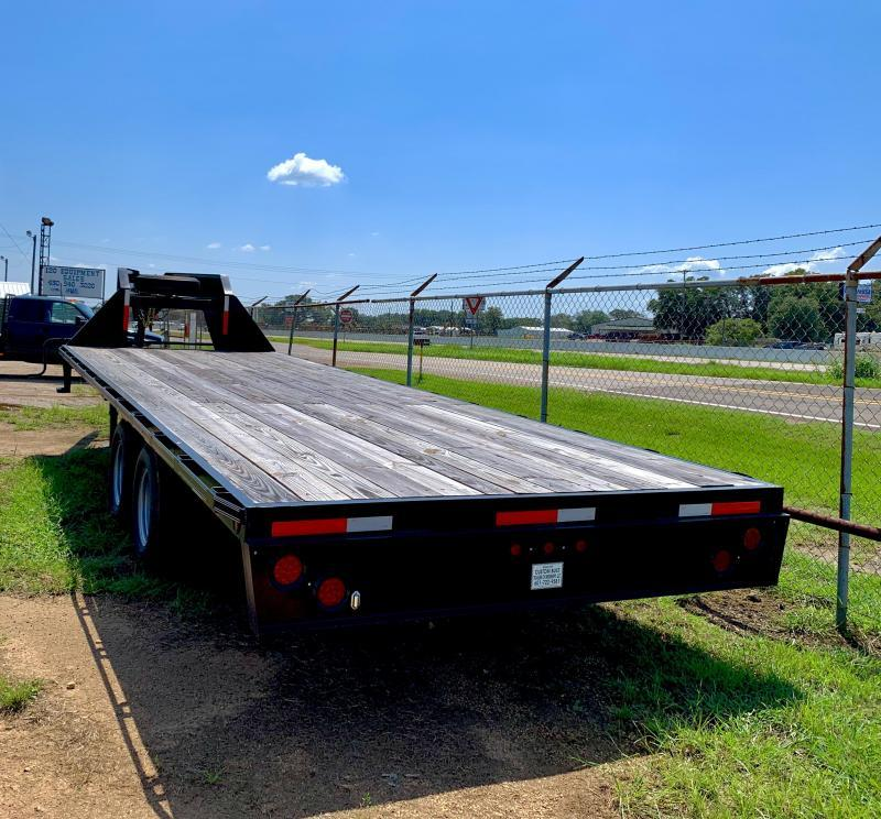 2020 Custom Built 24' Flatbed Trailer
