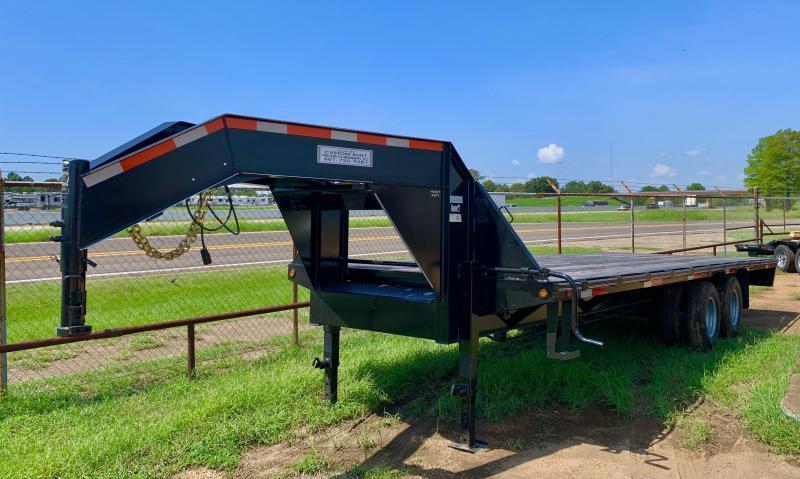 2020 Custom Built 24' Flatbed Trailer