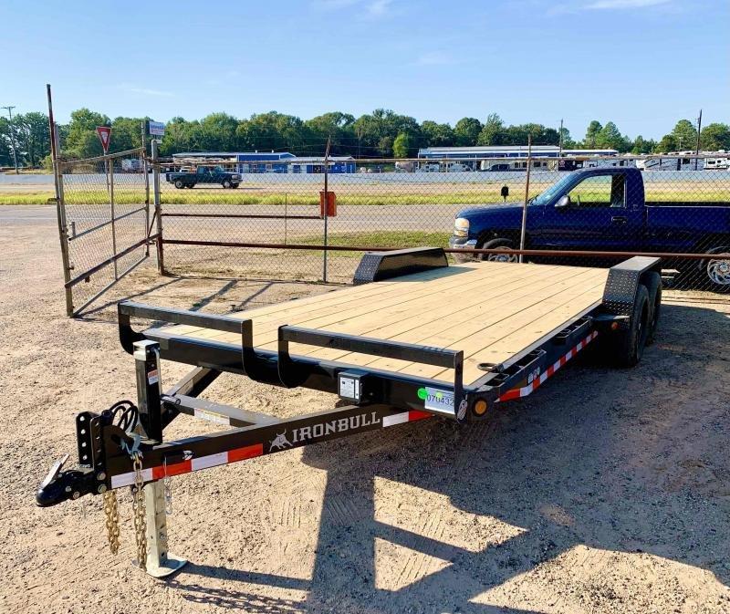 2022 Iron Bull 83x20 Bumper pull Car Hauler Equipment Trailer