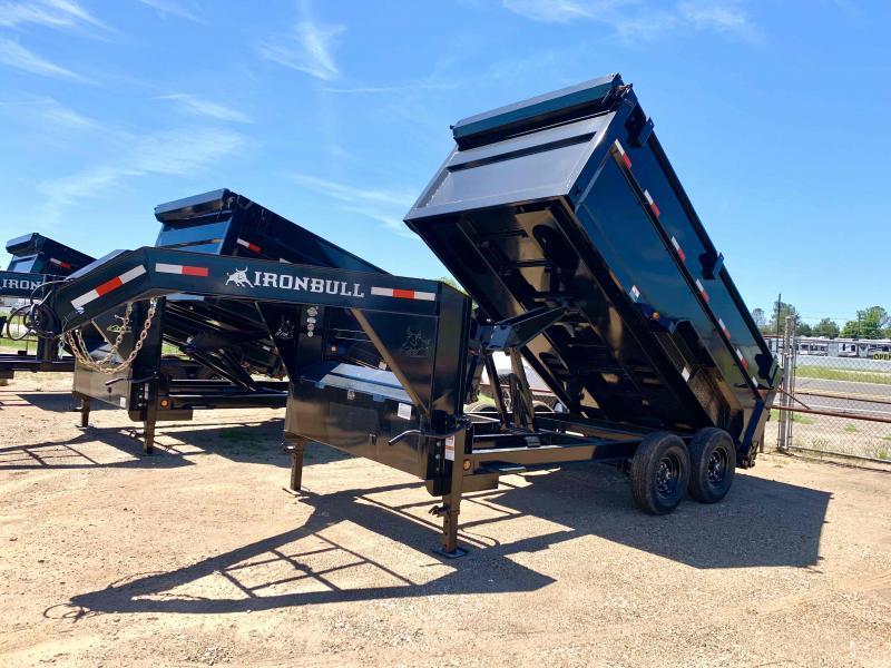 "2021 Iron Bull 83""X14"" Dump Trailer"
