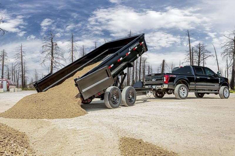 2021 Iron Bull 83x16 Bumper Pull Dump Trailer