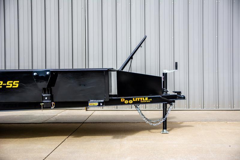 2021 Doolittle Trailer Mfg UT77X143KSS Utility Trailer