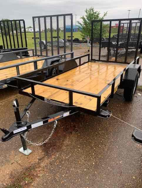 2021 Doolittle Trailer Mfg 60X10 Rally Sport Utility Trailer