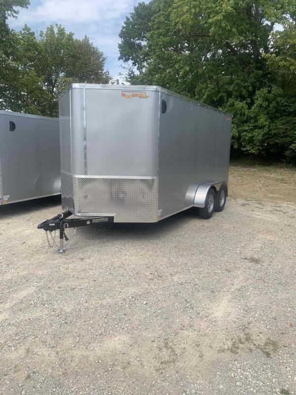 2022 Doolittle Trailer Mfg 7X14 7000 GVWR V-nose   Enclosed Cargo Trailer