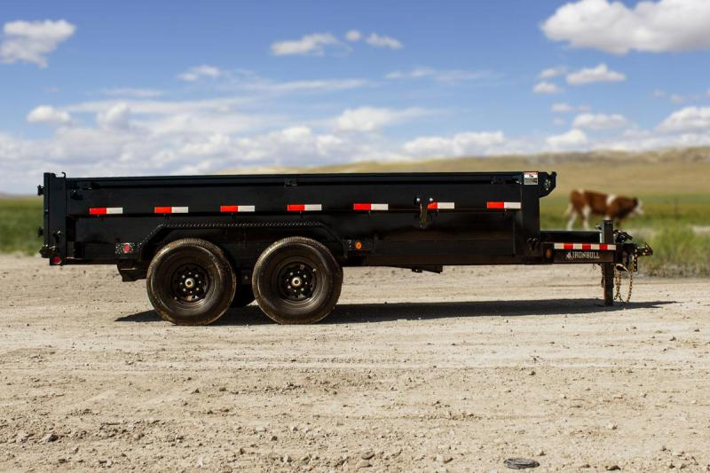 2022 Iron Bull 83X16 BUMPER PULL Dump Trailer