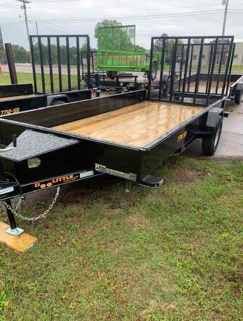 2021 Doolittle Trailer Mfg 77x14 SS SERIES Utility Trailer