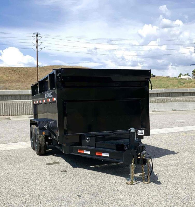 2021 Iron Bull 72x12 Bumper Pull Dump