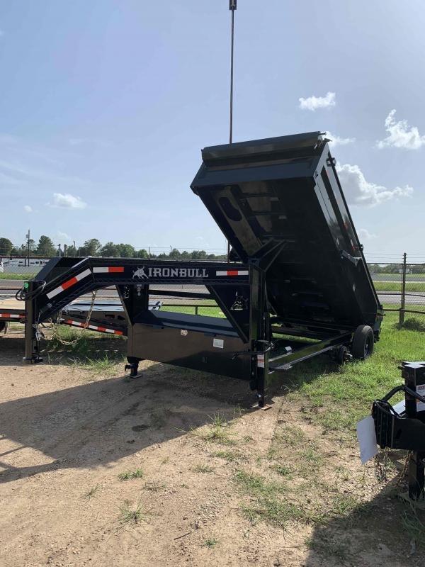 2022 Iron Bull 83x16 Gooseneck Dump Trailer