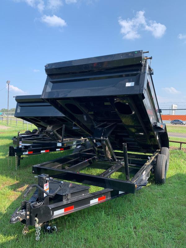 2022 Iron Bull 83x14 Bumper Pull Dump Trailer