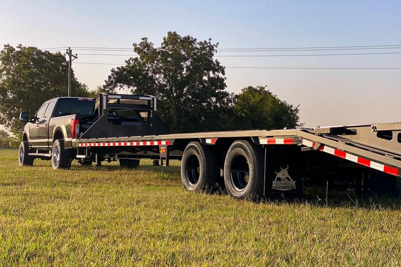 2021 Iron Bull LOW PRO 102X40 Flatbed Trailer