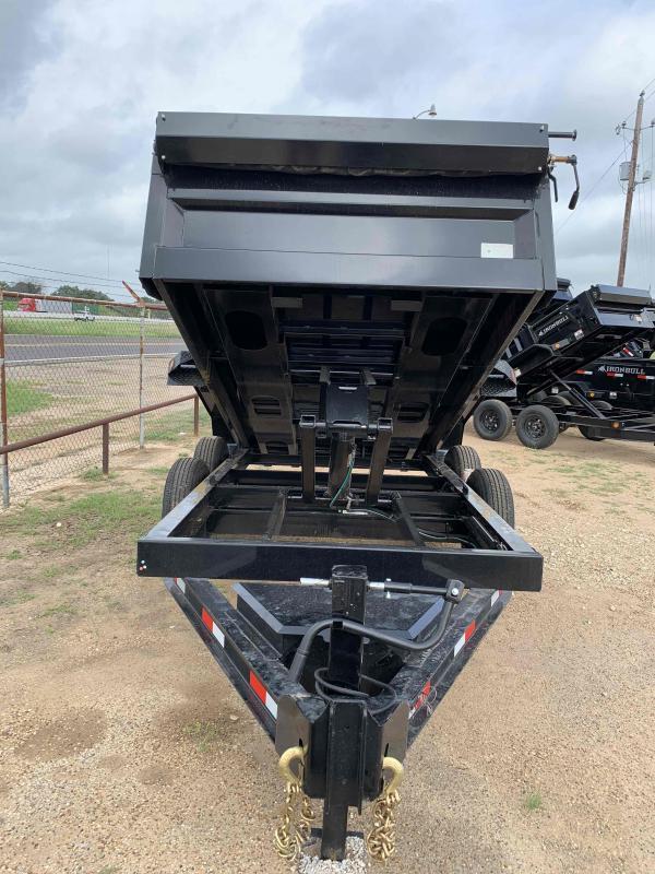 2022 Iron Bull 72X12 2-7000 AXLES BUMPER PULL Dump Trailer