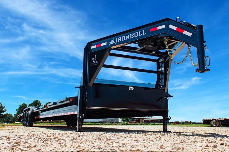 2022 Iron Bull 102X38 GOOSENECK Equipment Trailer
