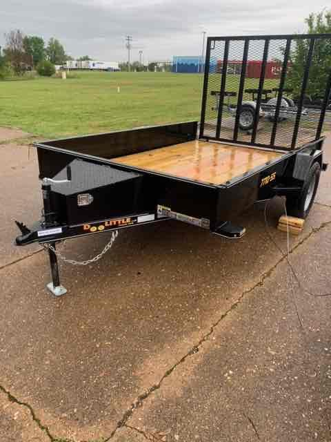2021 Doolittle Trailer Mfg 77X10 SS SERIES Utility Trailer