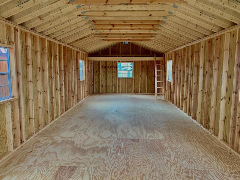 2020 Lonestar Wood Utility Cabin Cabin