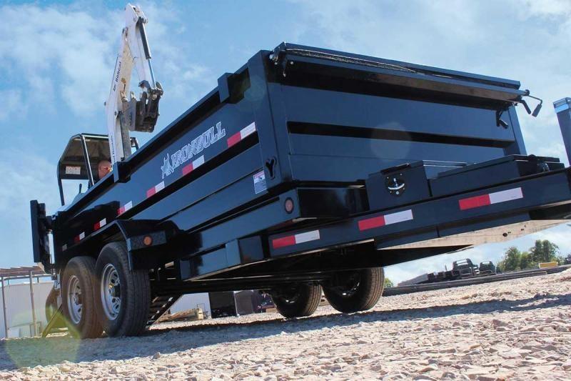 2021 Iron Bull BUMPER PULL 83X14 Dump Trailer