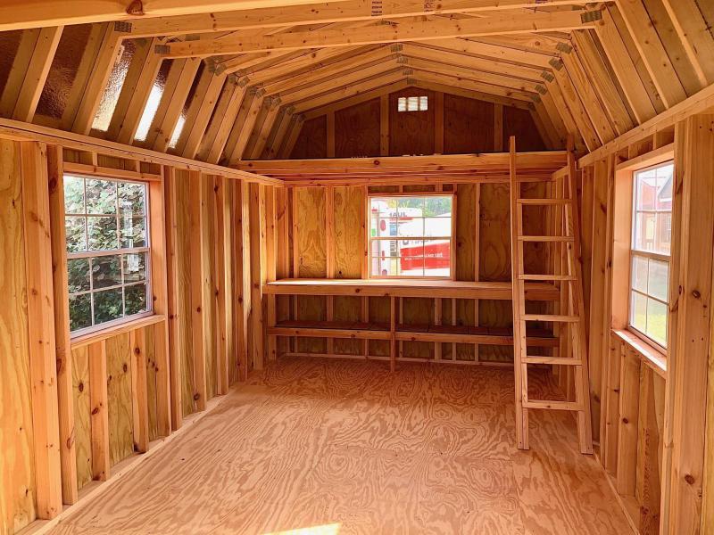 2020 Lonestar Wood Lofted Barn Barn