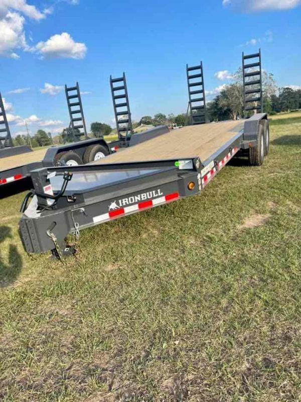 2022 Iron Bull 83x20 Bumper Pull 2-7k w/Stand Up Ramps Equipment Trailer