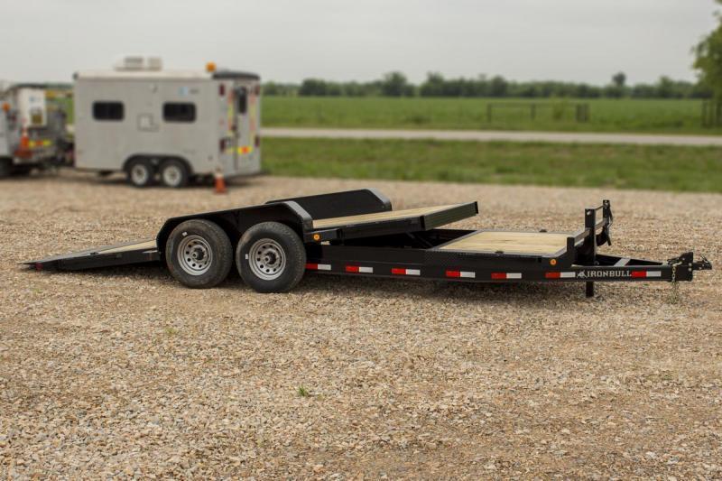2021 Iron Bull TILT LOW PRO 83X20 Equipment Trailer