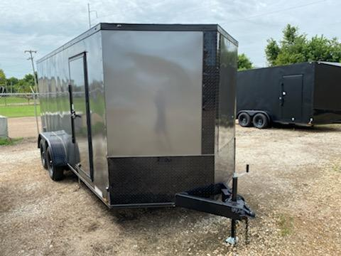 2021 Diamond Cargo 7 x 16 Enclosed  Trailer